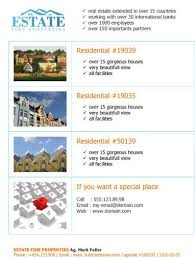 real estate flyer examples 14 free flyers for real estate sell rent