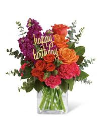 birthday flowers be bold on your birthday at from you flowers