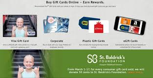 buying gift cards online 5 ways to help us raise money for st baldrick s gcg