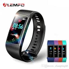 activity monitoring bracelet images Lemfo smart bracelet color lcd screen ip67 waterproof heart rate jpg