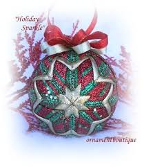 1167 best quilted ornaments images on quilted