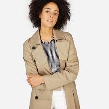women s drape trench coat everlane