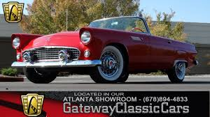 1955 ford thunderbird gateway classic cars of atlanta 100 youtube