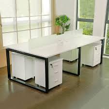 Steel Frame Desk Simple Workstation Steel Frame 2 Person Office Desk Buy 2 Person