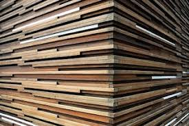layered wood wall wood walls that look cool a slippery slope