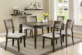 dining room sets with fabric chairs dining room sets