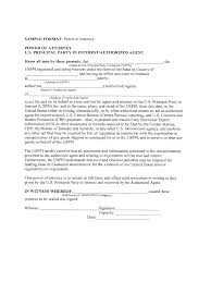 Power Of Attorney Sample Format by General Power Of Attorney Form 26 Free Templates In Pdf Word