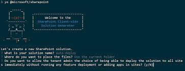 tenant scoped solution deployment for sharepoint framework