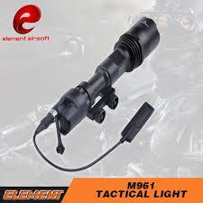 tac light flash light airsoft element sf tactical light m961 led flash light version super