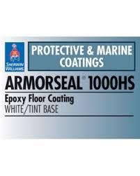 armorseal 1000hs epoxyfloor coating sherwin williams