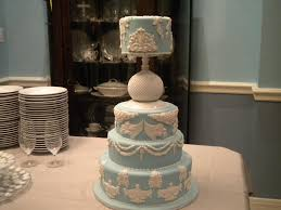 modern blue wedding cakes with simple blue wedding cake images
