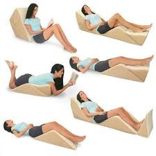 pillows for back support in bed backmax bed wedge pillows full body back support in total comfort