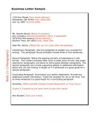 ideas collection sample format of a formal business letter also