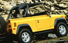 land rover defender 90 yellow 1994 land rover defender information and photos zombiedrive