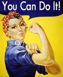 Rosie The Riveter Meme - ideal rosie the riveter meme self doubt vs self belief you can do
