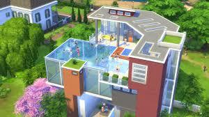 Modern Narrow House Two Narrow Modern Houses Japanese Micro House Style Unusual Sims 4