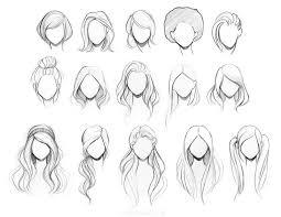best 25 drawings of hair ideas on pinterest drawing people