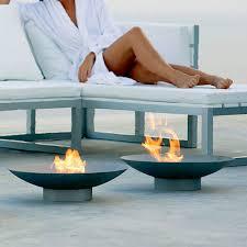 Modern Fire Pits by Gandia Blasco Brasero Modern Outdoor Fire Pit Stardust