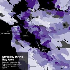 Trulia Crime Map San Francisco by America U0027s Most Diverse Neighborhoods And Metros