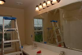 vanity mirror clips removing builder u0027s grade mirror u2013 tell u0027er all about it