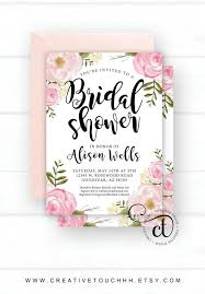 where to register for a bridal shower best 25 shower invitations ideas on bridal shower