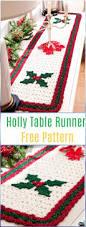 crochet table runner free patterns u0026 tutorials crochet table
