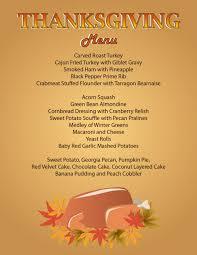 thanksgiving thanksgiving menu dinner traditional peeinn