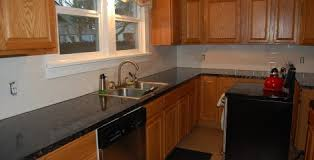Diy Painting Kitchen Cabinets White Painting Kitchen Cabinets Black Before And After Kitchen Crafters