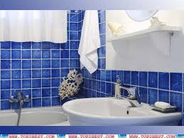 Latest Home Interior Designs by Nice Blue Bathroom Tile In Home Interior Design Models With Blue