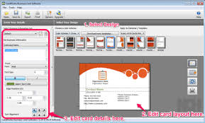 card software 7 best free business card maker software for windows list of