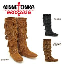 womens fringe boots size 9 minnetonka womens 5 layer fringe boot brown us size 9 style