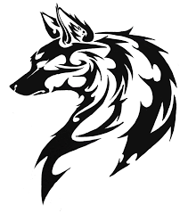 tribal stag tattoo dog tribal by firregani on deviantart tattoos pinterest