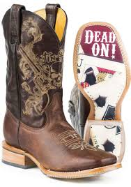 outlaw tin haul with dead on obvious sole cowboy boots urban