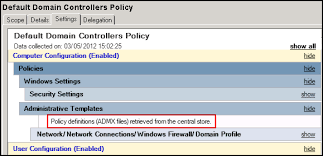 how to create a group policy central store virtually impossible