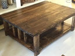 dark walnut end table rustic coffee table stained dark walnut coffee table colors
