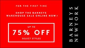 barney s warehouse sale