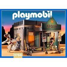 bureau playmobil playmobil 3786 le bureau du sherif achat et vente