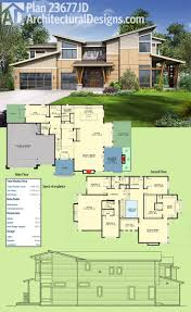 house plans with extra large garages 194 best modern house plans images on pinterest modern house