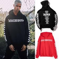 justin bieber sweatshirt ebay