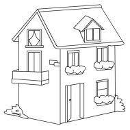 casa disegno disegnare 3d