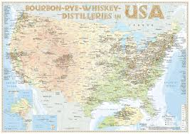 Map Of Canada And Usa by New Maps Of Whiskey Distilleries In The Usa Canada And Japan