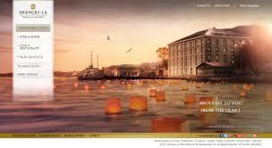 hotel website design shangri la 20 best hotel website designs for your design