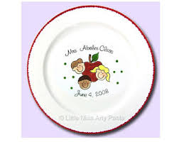 personalize plate personalized plate etsy