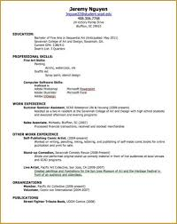 first resume exle for a high student how to write jobe for highschool student sle no a job resume