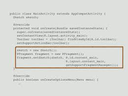 creating sensor aware u0026 vr apps with processing for android