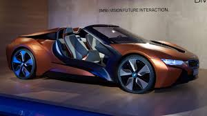 future cars this bmw i8 concept previews the future of car electronics top gear