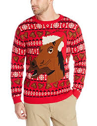 christmas sweaters men s happy holidays christmas sweater