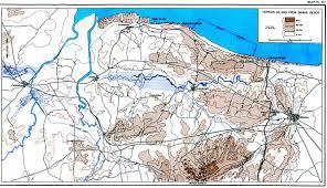 Topographical Map Of Utah by Omaha Beachhead