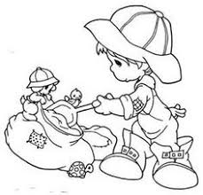 bear child precious moments coloring pages precious