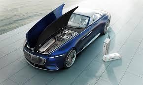 maybach 2014 california dreamin u0027 vision mercedes maybach 6 cabriolet is shown